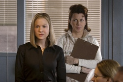 "Renee Zellweger and Siobhan Fallon Hogan star in a scene from the movie ""New in Town."" (CNS/Lionsgate)"