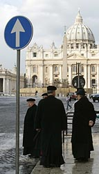 PRIESTS WAIT FOR RELEASE OF VATICAN DOCUMENT
