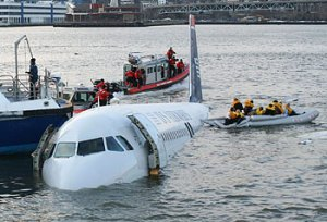Passengers are rescued in the miracle on the Hudson. (CNS/Reuters)
