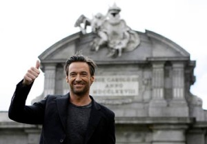 Hugh Jackman is donating $100,000 to someone's favorite charity. (CNS photo/Reuters)