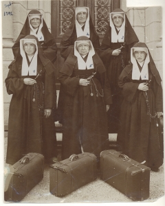 "Sisters of Mary of the Presenation arrived in 1902 in North Dakota to mnister to new immigrants. (Photo courtesy of ""Women & Spirit: Catholic Sisters in America)"