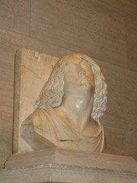 Sculpture by Tullio Lombardo at National Gallery of Art. (CNS photo/Angela Cave)