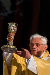 Pope Benedict in Jerusalem 2009