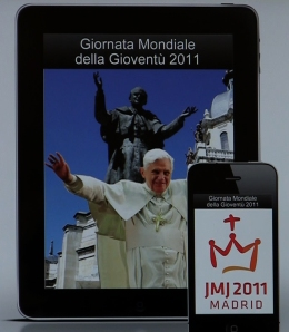 The Italian version of the iPhone and iPad app for World Youth Day