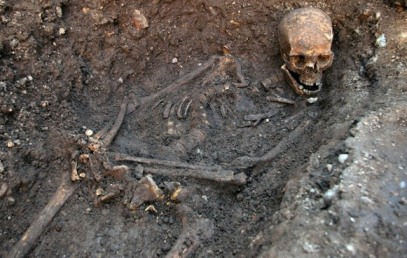 DNA tests proved bones found in an English parking garage were those of King Richard III. (CNS photo/Reuters)
