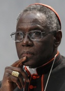 Cardinal Sarah in a 2011 file photo. (CNS/Paul Haring)