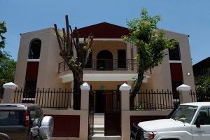 The new headquarters of the Conference of Haitian Religious in Port-au-Prince is seen May 25. (Courtesy of PROCHE, the Partnership for Church Reconstruction in Haiti)