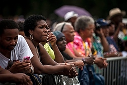 Participants at the 50th anniversary of the March on Washington (CNS/Reuters)