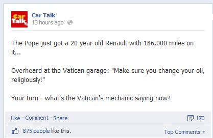 facebook cartalk