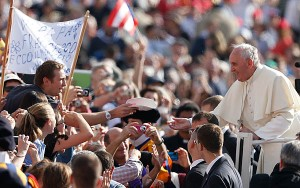 Pope leads general audience in St. Peter's Square at Vatican