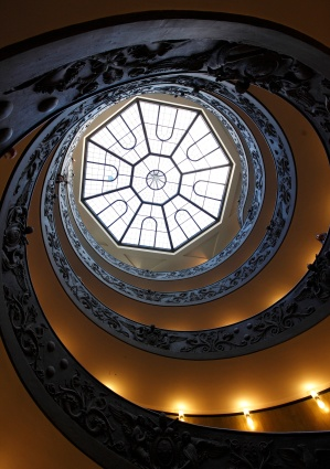FILE PHOTO OF SKYLIGHT IN VATICAN MUSEUMS