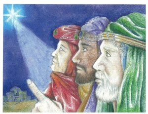 Grand-prize winner of MCA 2012-2013 Christmas Artwork Contest. Entry by Sun C. of Archdiocese of Newark, N.J.