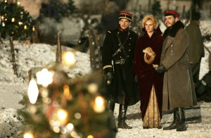 "A scene from the movie ""Joyeux Noel."" (CNS photo/Sony Picture Classics)"