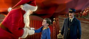 "Scene from the animated movie ""The Polar Express."" (CNS photo/Warner Bros.)"