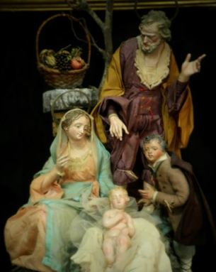One of the Nativity scenes featured on the website of Cantone & Costabile, the firm making this year's Vatican Nativity scene.