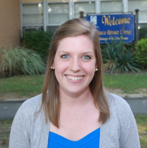 Theresa Kiblinger, Salesian Lay Missioner, nurse and blogger.  (CNS photo/Adam Rudin, Salesian Lay Missioners)