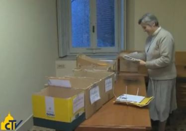 papal mail room