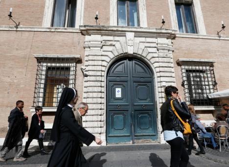 CNS' new office at Via della Conciliazione 44