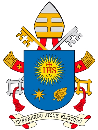 Vatican updates coat of arms of Pope Francis