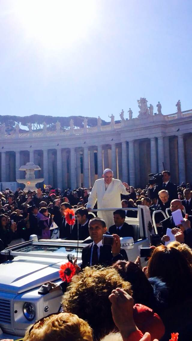 Pope Francis' appeal to the younger generation