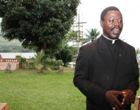 Bishop Nestor-Desire Nongo Aziagbia of Bossangoa, Central African Republic. (Courtesy of America magazine)