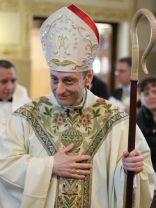 Bishop Frank J. Caggiano of Bridgeport, Connecticut. (CNS photo/Greg Shemitz)