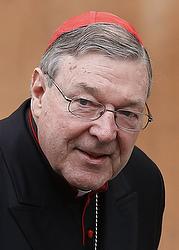 Cardinal Pell (CNS/Paul Haring)