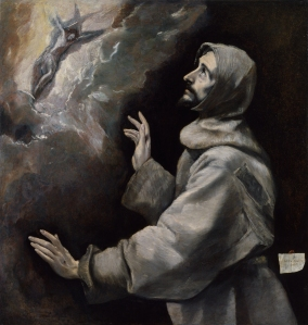 """St. Francis Revealing the Stigmata"" (Courtesy/National Gallery of Art)"