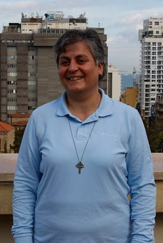 Good Shepherd Sister Micheline Lattouff (CNS/Barb Fraze)