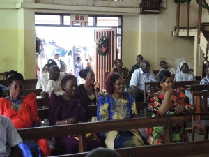 Confirmation day at Catholic parish in Kampala, Uganda. (Photos courtesy of Catholics & Cultures.)