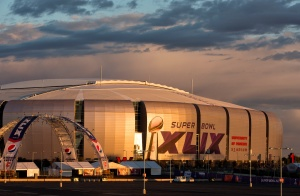 University of Phoenix Stadium in Glendale, Ariz. (CNS photo/Nancy Wiechec)