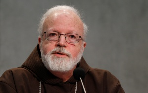 Cardinal Sean P. O'Malley of Boston, President of the Pontifical Commission for Child Protection. (CNS/Paul Haring)