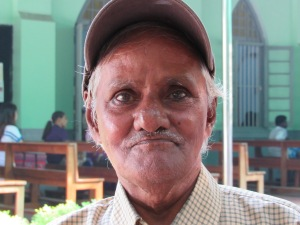 Samson da Silva, 82. (CNS/Barb Fraze)