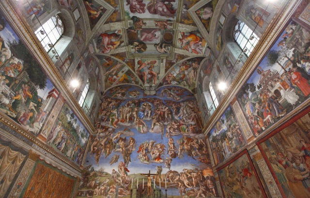The Sistine Chapel. (CNS/Paul Haring)
