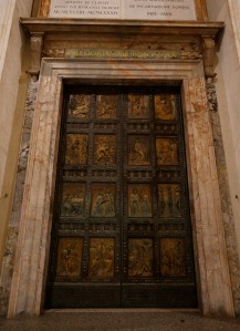 The Holy Door at St. Peter's Basilica. (CNS/Paul Haring)