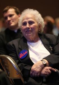 Mercy Sister Lucille Socciarelli (CNS photo/Bob Roller)