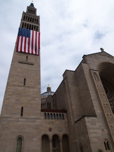 Basilica of the National Shrine of the Immaculate Conception in Washington. (CNS photo/Julie Asher)