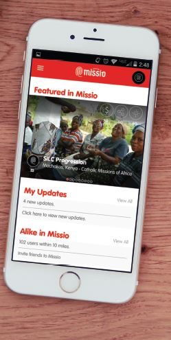 The new Missio app can be downloaded Sept. 10.