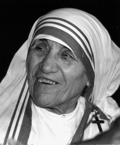 Blessed Teresa of Calcutta, the foundress of the Missionaries of Charity, who was beatified by Pope John Paul II in 2003, is pictured in an undated file photo. (CNS photo/Michael Hoyt, Catholic Standard)