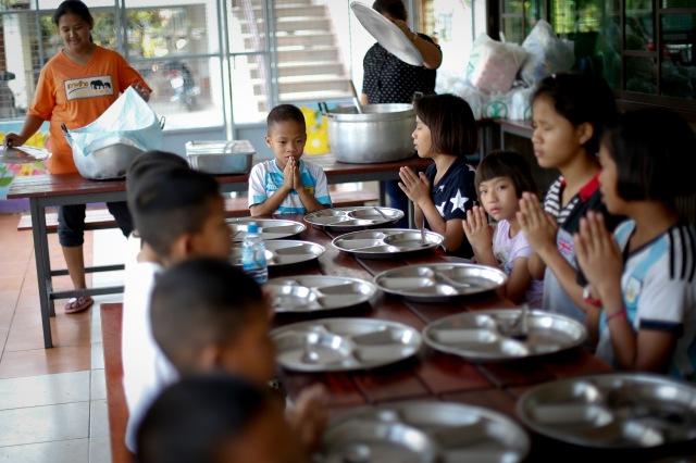 Baan Dek Thammarak orphanage for HIV positive children in Lopburi province, Thailand