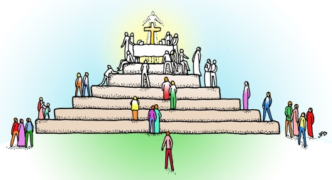 """""""I come to gather nations of every language."""" -- Isaiah 66:18a"""